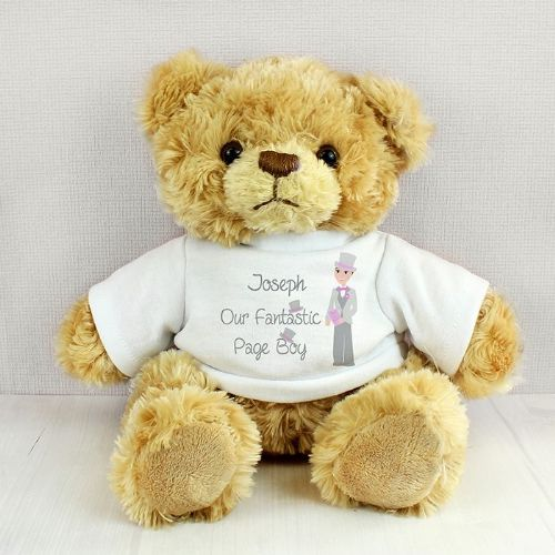 Fabulous Page Boy Message Bear
